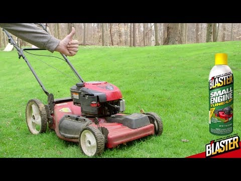 Lawn Mower Maintenance With B Laster Small Engine Tune Up