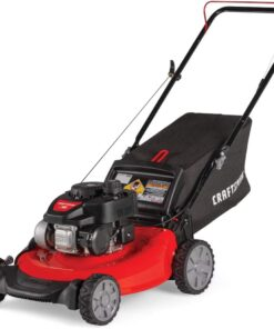 Craftsman M105 140cc 21-Inch 3-in-1 Gas Powered Push Lawn Mower with Bagger, 1-in Aurora CO