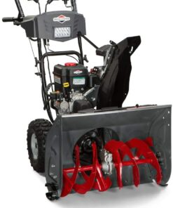 Briggs & Stratton S1227 Standard Series 27-Inch Dual-Stage Snow Blower with Push Button Electric Start and Free Hand Control Aurora CO