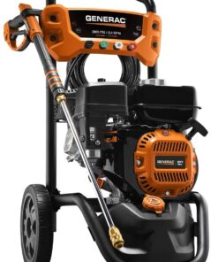 Generac 7954 Pressure Washer 2900PSI, One Size, Black, Orange Aurora CO