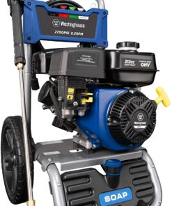 Westinghouse WPX2700 Gas Powered Pressure Washer 2700 PSI and 2.3 GPM, Soap Tank and Four Nozzle Set, CARB Compliant Aurora CO