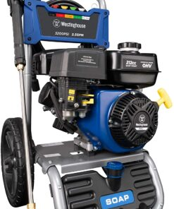 Westinghouse WPX3200 Gas Powered Pressure Washer 3200 PSI and 2.5 GPM, Soap Tank and Five Nozzle Set, CARB Compliant Aurora CO