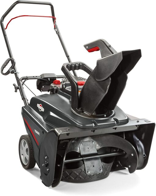 Briggs & Stratton 1022E 22-Inch Single-Stage Snow Blower with Push Button Electric Start Aurora CO