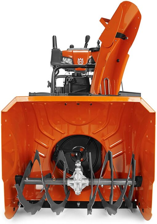 Husqvarna ST224P, 24 in. 208cc Two-Stage Gas Snow Blower with Power Steering and Electric Start Aurora CO
