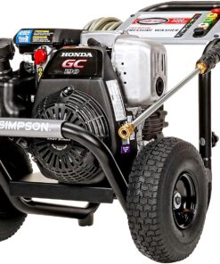 Simpson Cleaning MSH3125 MegaShot Gas Pressure Washer Powered by Honda GC190, 3200 PSI at 2.5 GPM, black Aurora CO