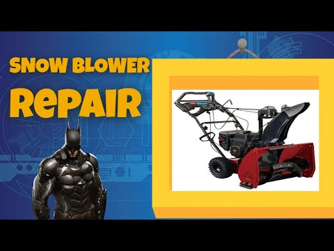 Snowblower Repair Home Service 80016