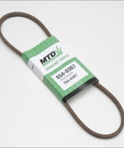 MTD Genuine Part 954-0367 Genuine Parts Snow Thrower Belt OEM part for Troy-Bilt Cub-Cadet Craftsman Bolens Remington Ryobi Yardman Yard-Machine Aurora CO