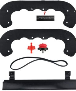 ANTO 99-9313 Snow Blower Paddles for Toro PowerClear 621 Snowblower Paddle with 133-5585 108-4884 Scraper Kit, V-Belt 108-4921