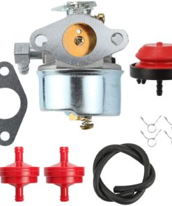 Wellsking 640298 Carburetor for Tecumseh 640298 OHSK70 OH195SA Engines 5.5hp 7hp Models Ariens 932036 Oregon 50-666 Models Snowblowers Many 2 Stage Snow Blowers 4 Cycle Engines with Ture Up Kits