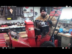 Who repairs Craftsman snow blowers?