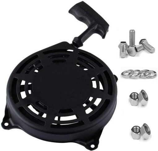 TOPEMAI 497680 Rewind Recoil Starter Compatible with Briggs and Stratton Parts 497680 Oregon 31-068 and Rotary 12368 Toro Lawnboy MTD Snapper Lawnmower